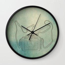 Camera Study no. 1 Wall Clock