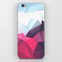 playstation iPhone & iPod Skins featuring Polygonal by eARTh
