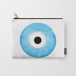 Watercolor Evil Eye Carry-All Pouch