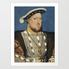 Henry VIII - Hans Holbein the Younger Art Print