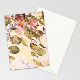 Pastell Leaves  Stationery Cards