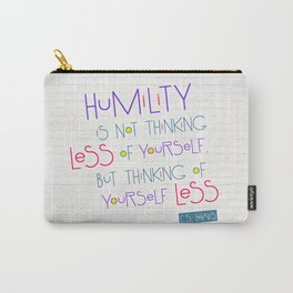 Humility Carry-All Pouch