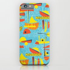 Abstract Boats inspired by midcentury 1950s design Slim Case iPhone 6