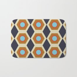 retro times Bath Mat