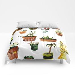 houseplants Comforters