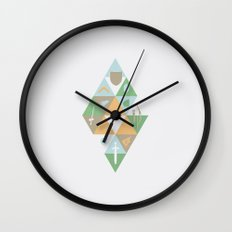 Waker of winds Wall Clock