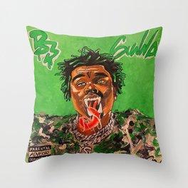 gunna,ds3,drip season 3,rapper,album,poster,wall art,fan art,music,hiphop,rap,rapper Throw Pillow