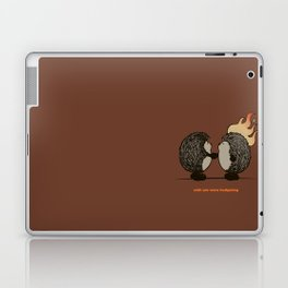 Wish you were hedgehog Laptop & iPad Skin