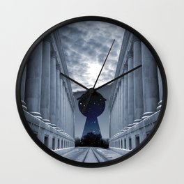 Keyhole to Infinity Wall Clock