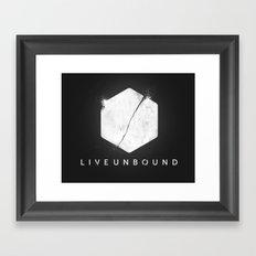 The Logo Framed Art Print
