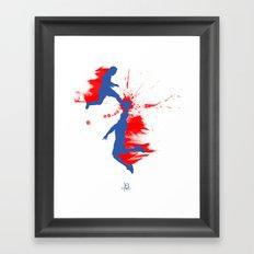 Soccer & Basketball Framed Art Print