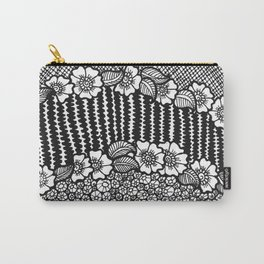 flower stripes Carry-All Pouch