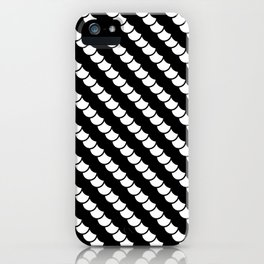 Spinal Stripes iPhone Case