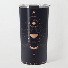 La Papesse or The High Priestess Tarot Travel Mug