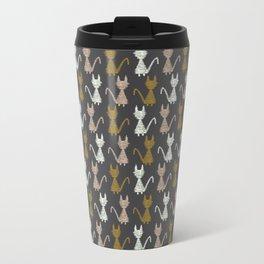 Cat pattern 2 Travel Mug