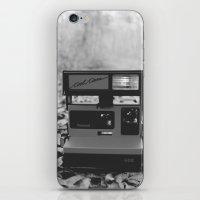 polaroid iPhone & iPod Skins featuring Polaroid by beabbyful