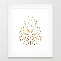 prism Framed Art Prints featuring Prism  by Tayler Kiiim