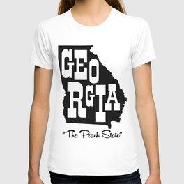 GEORGIA THE PEACH STATE SUPERCOOL T-SHIRT T-shirt