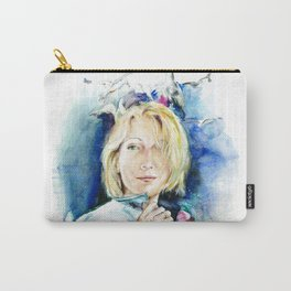 Seagull woman Carry-All Pouch