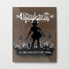 Cirque A Circa Victorian Steam Circus Sideshow Metal Print