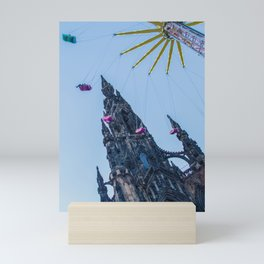 Colorful Edinburgh Mini Art Print