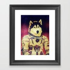 Cosmonaut K9 Framed Art Print
