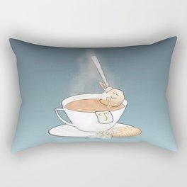 tea break Rectangular Pillow