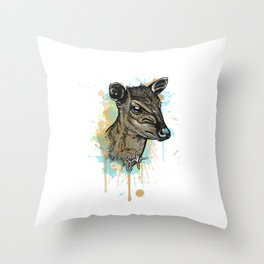 Duiker Throw Pillow