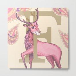 Fiadh Deer Metal Print