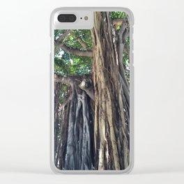 Banyan Tree in Honolulu Clear iPhone Case