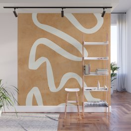 abstract minimal 31 Wall Mural