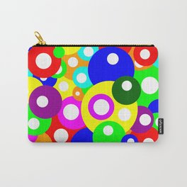 Multicolour Simple Dotty Pattern Carry-All Pouch