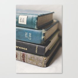 Vintage Books - Book series Canvas Print