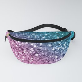 Tropical Beach Lady Glitter #8 #shiny #decor #art #society6 Fanny Pack