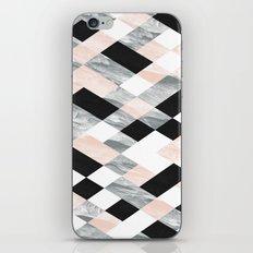 Pastel Scheme Geometry iPhone Skin