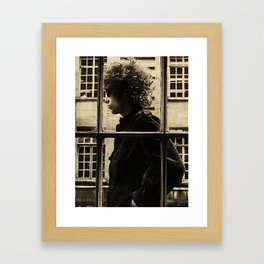 Bob Dylan Vintage 02 Framed Art Print