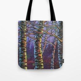 December sunset Tote Bag