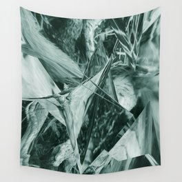 Green Abstract Eagle Nest Wall Tapestry