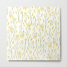 Messages of Love | Yellow Flowers Metal Print