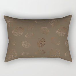 Christmas Plates, Wall Tapestry, Figs, Throw-pillows Rectangular Pillow