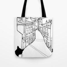 provence's cat Tote Bag