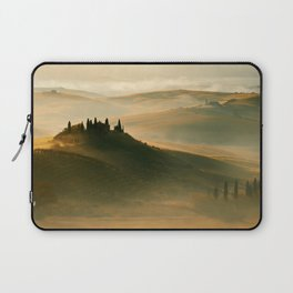 Sunrise in Val D'Orcia Laptop Sleeve