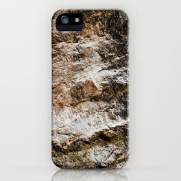 WATER OVER ROCKS. iPhone Case