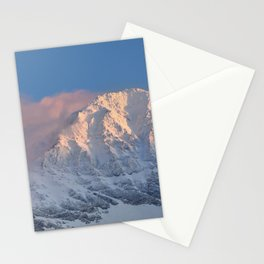 Mulhacen 3479 meters at sunset Stationery Cards