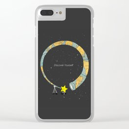 Discover yourself Clear iPhone Case