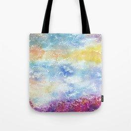 Sky Watercolor Art Illustration Tote Bag