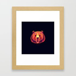Fantasy Bear Framed Art Print