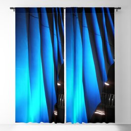 Exotic Blue Blackout Curtain