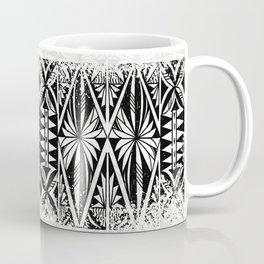 Black and white Siapo (tapa) Coffee Mug