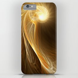 Golden Spiral iPhone Case